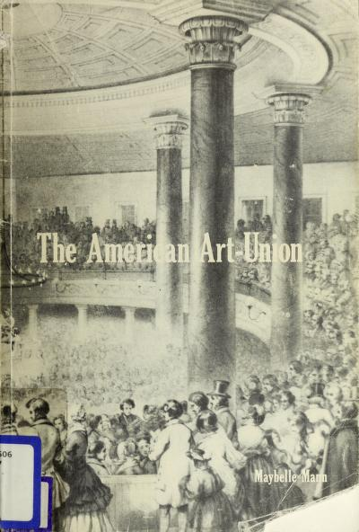 The American Art-Union by Maybelle Mann