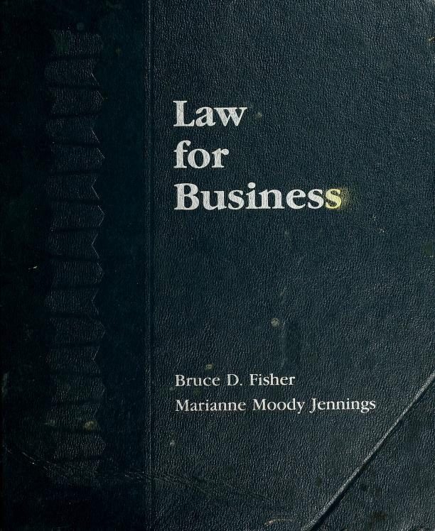 Law for business by Bruce D. Fisher